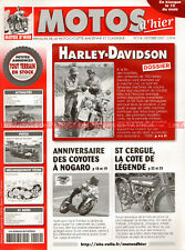 MOTOS D'HIER 114 Dossier HARLEY DAVIDSON 750 WLC WLA WW2 : 8 pages !