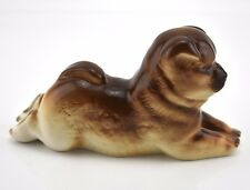 Lomonosov Porcelain New Dog Figurine Chow Chow  Authentic Russian Stamped NEW