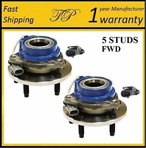2000-2005 BUICK LeSabre (FWD, 4W ABS) Front Wheel Hub Bearing Assembly (PAIR)