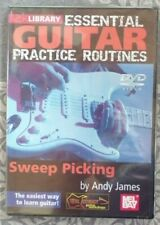 Sweep Picking Essential Guitar Practice Routines Lick Library DVD NEW
