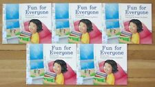 Lot 5 FUN FOR EVERYONE Guided Reading Fiction Level M, Rigby VGC L4