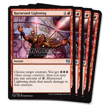 4x Harnessed Lightning - Kaladesh - Playset - NM - English - MTG