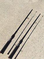 "2 Shakespeare GX2 Ugly Stik 6'6"" Medium USSP662M Spinning Rods #6.5"