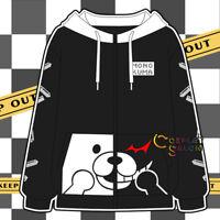Danganronpa; Dangan Ronpa Anime Cosplay T-shirt Tops Coat Jacket Pants Costumes