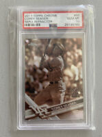 2017 Topps Chrome Corey Seager 2nd Year Rookie Card Sepia Refractor PSA 10 Hot!