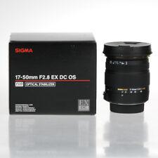 Sigma 17-50mm f/2.8 EX DC OS HSM Objektiv für Nikon Objektivbajonett