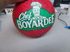 New Chef Boyardee Red Kick Ball Dodge Ball Playground Ball