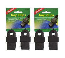 Coghlans Tarp Clips 4 pack Heavy Duty Clip Supports up to 240 lbs