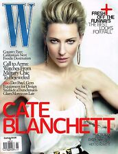 W MAGAZINE 6/2010 CATE BLANCHETT Barbara Palvin SASHA PIVOVAROVA Heidi Mount NEW