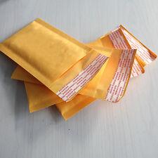 10x 90 * 130 + 40mm Kraft Bubble Bag enveloppes rembourrées expéditeurs