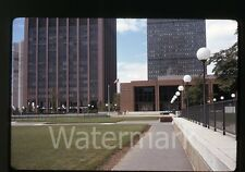 1970s Kodachrome photo slide street scene  Boston MA trip Saks Fifth Avenue