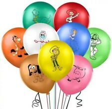 9 12IN TOY STORY BALLOONS KIDS BIRTHDAY DECOR