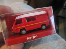 "Raro : Herpa 042307MB 100 Autocaravana"" Rojo "", Nuevo"