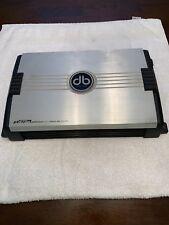 db Drive pt475a Platinum Series 500W 4 Channel Amplifier