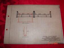 LVRR - Sketch Showing Painted Hook Scafold Used in Painting Bridges Seneca Div.