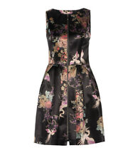 Cue crane oriental black dress with floral print *SOLD OUT RARE PIECE * SIZE 8
