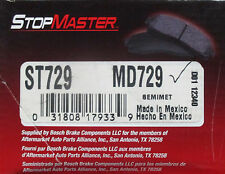 BRAND NEW STOP MASTER MD729 REAR BRAKE PADS FITS VEHICLES ON CHART