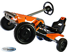 Kinderfahrzeug XXL METALL Tretfahrzeug Pedal Go-Kart Tretauto Gokart EVA-Reifen