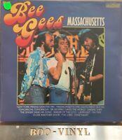 THE BEE GEES 'MASSACHUSETTS' UK LP Vg+ Con