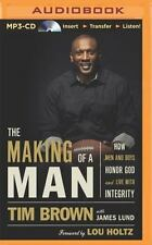 New! The Making of a Man by Tim Brown (2014, MP3 CD, Unabridged)