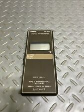 Omega Hh 25kf Digital Thermometer Type K Thermocouple 120f To 2000f 42v Max