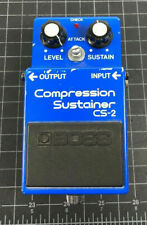 BOSS CS-2 Compressor Guitar Effect Pedal made in Dec, 1981 Japan [Exc++] #11223