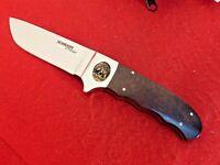 Schrade USA D'Holder mint Ironwood integral fixed blade knife & sheath