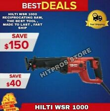 Hilti Wsr 1000 Reciprocating Saw The Best Tool Made To Last Fast Ship