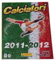 Calciatori 2011-2012 Album Vuoto Panini