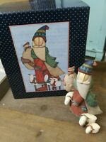 Lang & Wise Classic Santa's Sheep 1998 First Edition # 3 By Sue Dreamer With Box