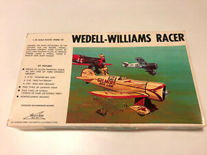 Wedell-Williams Racer 1:32 Scale Plastic Model Kit #32-121 New Open Box