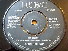 "RONNIE MILSAP - MY HEART  7"" VINYL"
