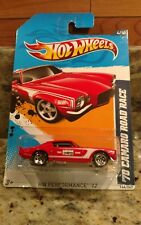 2012 HOT WHEELS '70 CAMARO ROAD RACE