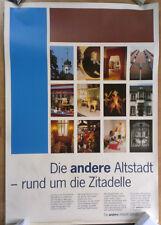 GERMAN OFFICIAL ART POSTER - DÜSSELDORF ZITADELLE * ART PRINT