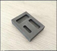1/4 1/2 1oz Gold Graphite Bar Mold Melting Casting Refining Scrap M1054 QL
