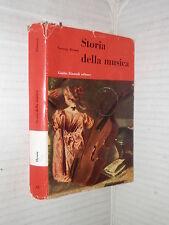 STORIA DELLA MUSICA George Dyson Einaudi 1953 Piccola biblioteca scientifico