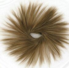hair bun scrunchie golden light brown hair ref: 21 12 peruk