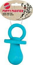 """Spot Ethical Pet 4"""" Soft Latex Blue Puppy Pacifier Dog Toy Spotbites Small doggy"""