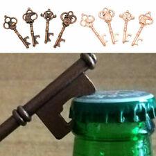 Vintage Metal Skeleton Key Shape Beer Bottle Opener Bridal Wedding Party Favor