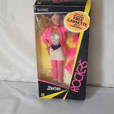 Mattel 1985 BARBIE and the ROCKERS Doll with CASSETTE• RETRO• Missing Iron on