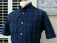 Fred Perry Tartan Check Button-Down Shirt - M/L - Casuals Ska Mod Scooter Skins