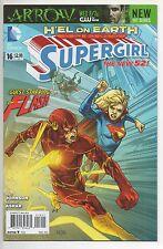 SUPERGIRL #16  (2013) FLASH vs. SUPERGIRL Crossover
