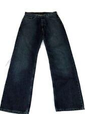 Polo Jeans Company Mens Size 32X32 Lightly Distressed Blue Jeans Woodrow EUC