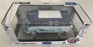 M2 Machines 1960 VW Microbus Deluxe U.S.A. Model S28 Die Cast,1:24,MIB (B61)