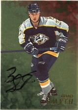 98-99 BE A PLAYER BAP SIGNATURE AUTOGRAPH AUTO GOLD BRAD SMYTH PREDATORS *35295