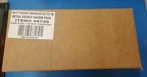 2016-17 Panini Donruss Elite Football Retail Double Hanger Pack Case