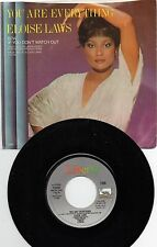 """ELOISE LAWS 7"""" 45rpm PROMO SINGLE W/ PS NM- 1980 YOU ARE EVERYTHING MODERN SOUL"""