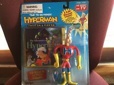 STREET PLAYERS HYPERMAN BENDABLE ACTION SUPER HERO NIP
