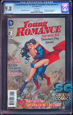 YOUNG ROMANCE # 1 CGC 9.8 - VALENTINES DAY SPECIAL - NEW 52 - FIRST PRINT - RARE