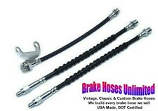 BRAKE HOSE SET Lincoln Mark IV, 1972 1973 1974